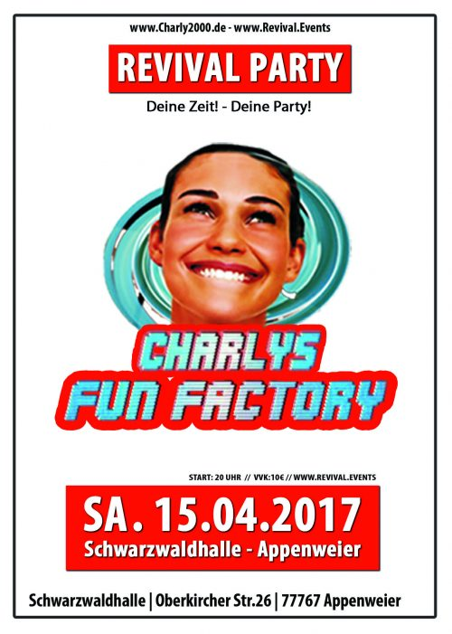 Charly's Fun Factory Charlys Charlys achern Fun Factory Achern Achern Appenweier Revival Rocchound Charly2000 Disco Schwarzwaldhalle Appenweier
